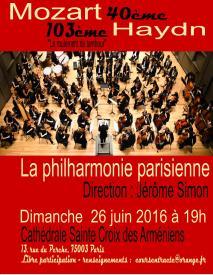 Affiche concert 26 juin